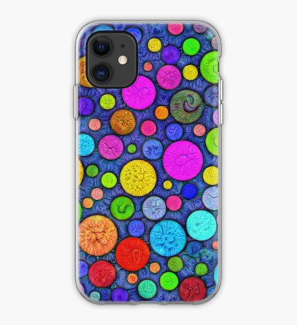 #DeepDream Color Circles Visual Areas 5x5K v1448629304 iPhone Case