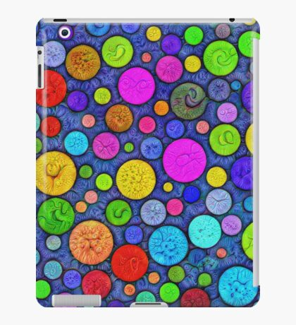 #DeepDream Color Circles Visual Areas 5x5K v1448629304 iPad Case/Skin