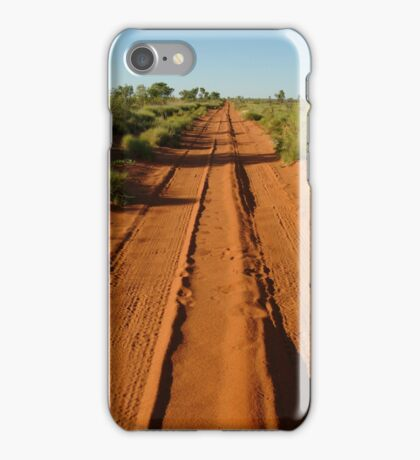 Track to Lake Gregory iPhone Case/Skin