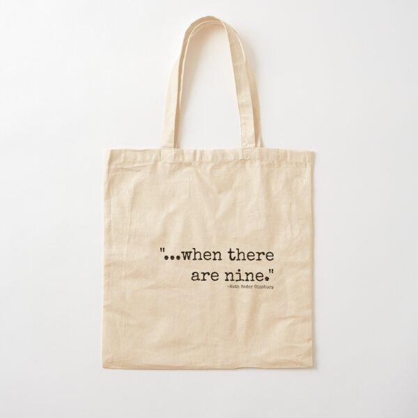 All-Over Print Tote featuring When There Are Nine