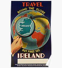 Póster Vintage poster - Ireland