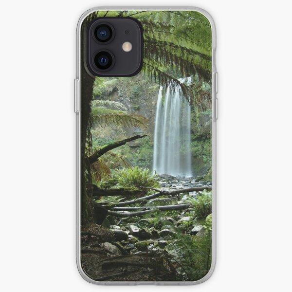Hopetoun Falls, Otway Ranges iPhone Soft Case