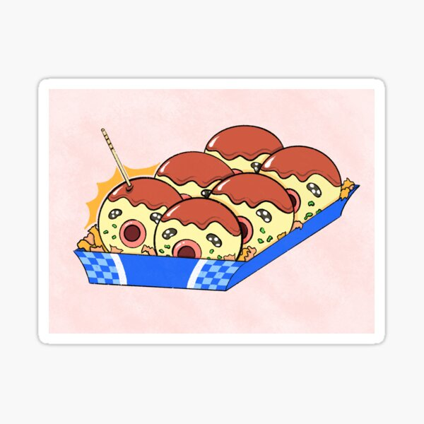 Want Some Takoyaki? Sticker