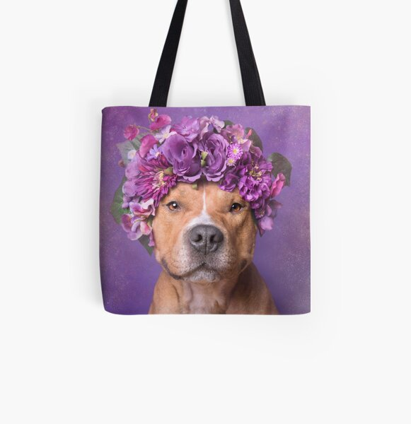 Flower Power, JD All Over Print Tote Bag