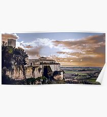 Saint Mary in the Castle - Tarquinia (IT) Poster