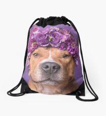 Flower Power, JD Drawstring Bag