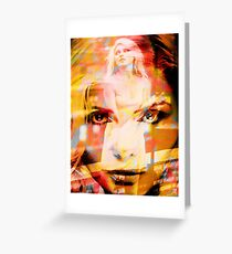 DEBBIE HARRY BLONDIE Greeting Card