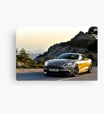 The new Aston Martin Vanquish ... Canvas Print