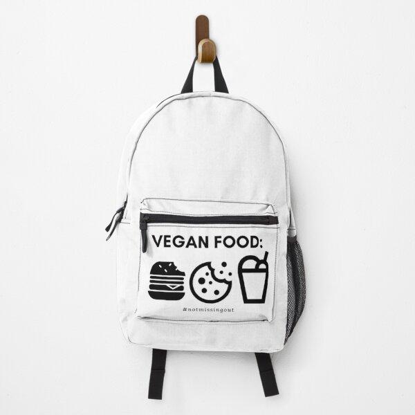 vegan food #notmissingout Backpack