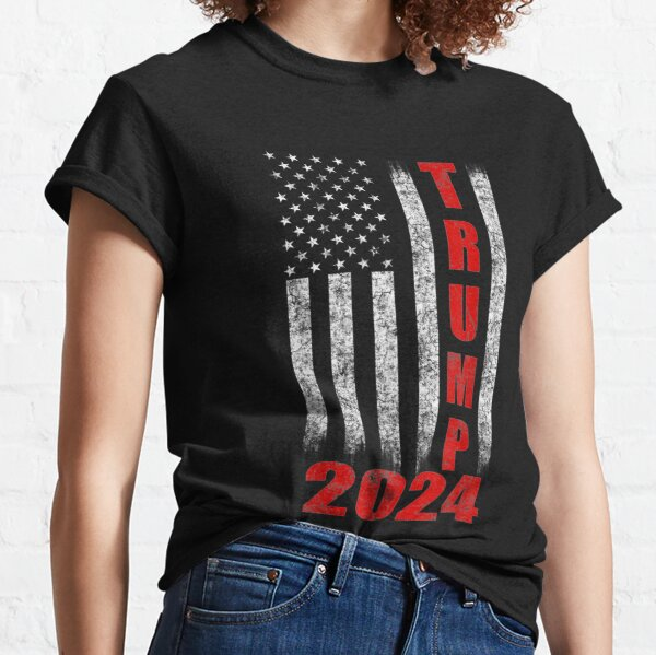 American Flag Design Trump 2024 Classic T-Shirt
