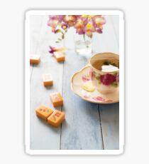 Tea and Mahjong Sticker