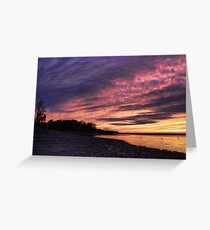 Great Cloud Shapes Greeting Card