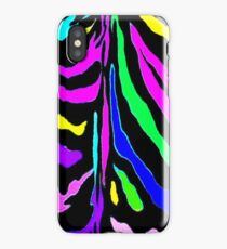 """Digital Zebra Multicolor"" iPhone Case/Skin"