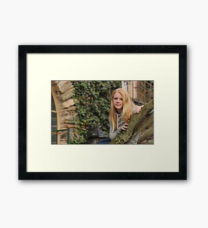 Beautiful Girl Framed Print