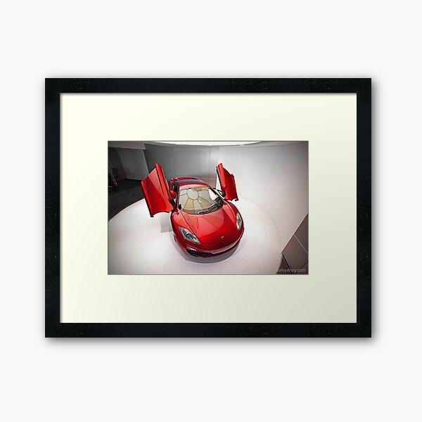 McLaren MP4-12C Framed Art Print