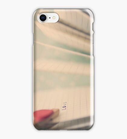 p.s  i love you iPhone Case/Skin