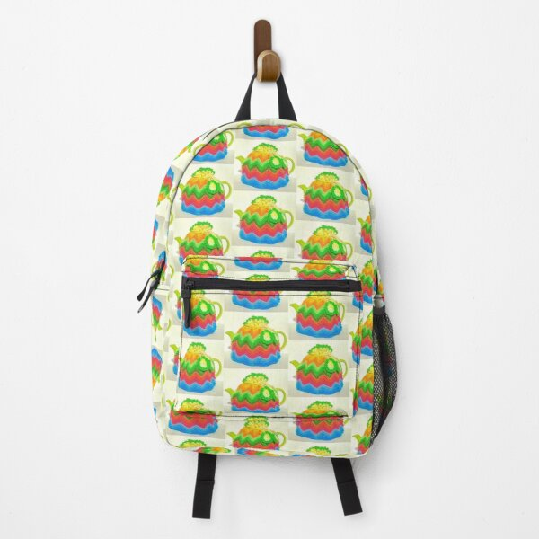 Tea for two teapot with cozy Backpack