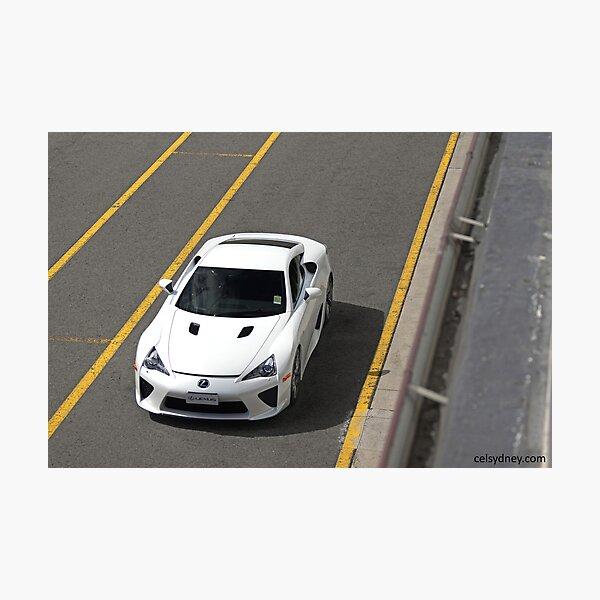Lexus LFA - Track Photographic Print