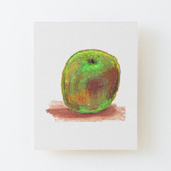 Apple Wood Mounted Print
