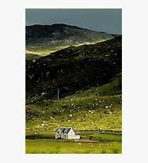 Valley House Photographic Print