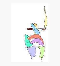 Cigarette Daydreams - In Color Photographic Print