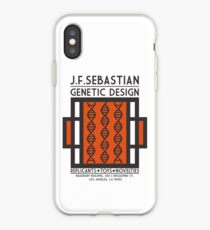 JF SEBASTIAN GENETIC DESIGN - Blade Runner iPhone Case