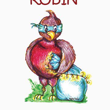 Robin T-Shirt by msinc
