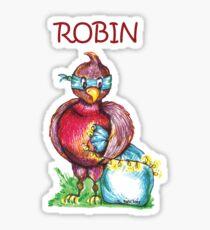 Robin T-Shirt Sticker