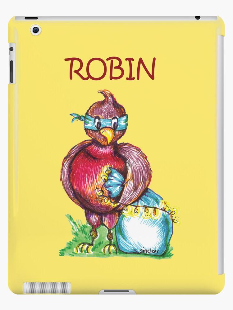 Robin T-Shirt by Maisie Sinclair