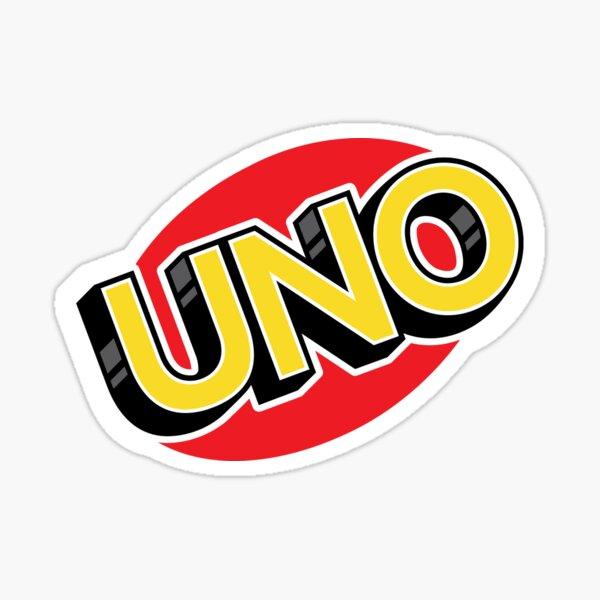 Uno Logo Sticker