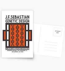Postales DISEÑO GENETICO JB SEBASTIAN - Blade Runner