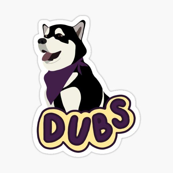 mascot - dubs Sticker