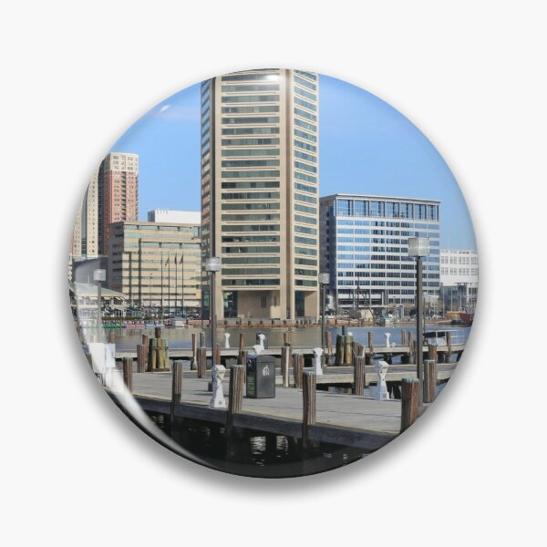 Baltimore's Inner Harbor and World Trade Center Pin