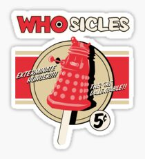 WHOSICLES Sticker