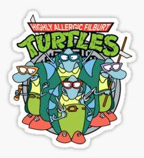 Filburt Turtle Sticker