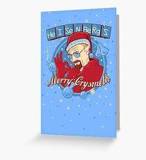 Merry CrysMeth Greeting Card