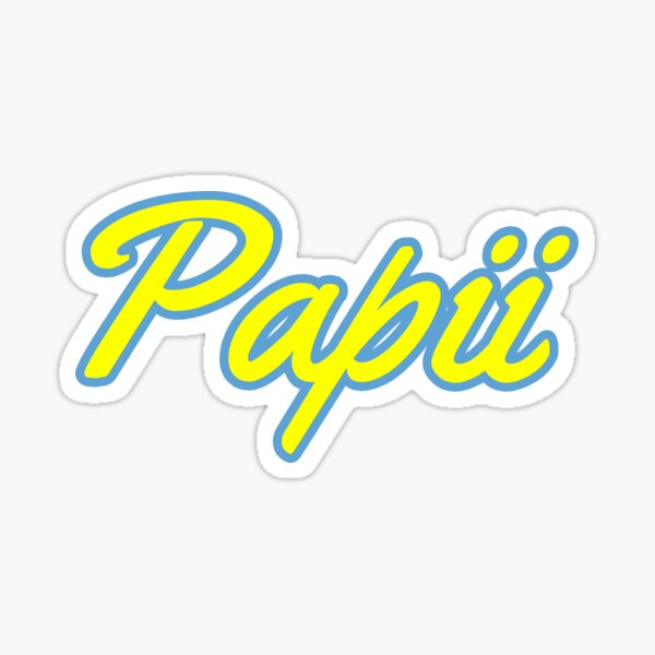 Papii (OffGun Merch) Pegatina