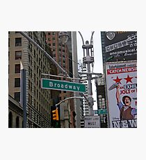Broadway, NYC Photographic Print