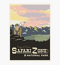 Safari Zone Photographic Print