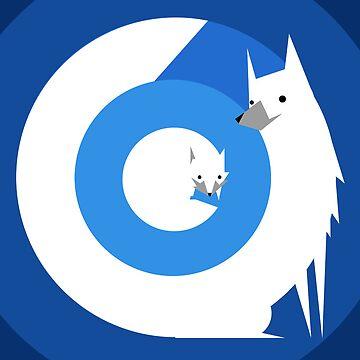 Arctic Fox by iamkingler