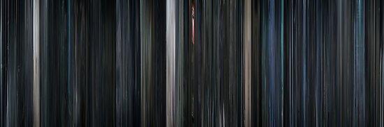 Moviebarcode: Iron Sky (2012) by moviebarcode
