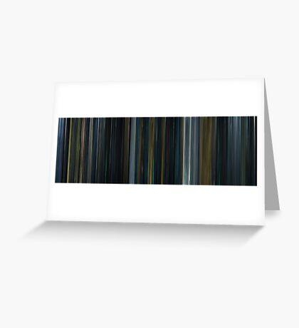 Moviebarcode: Prometheus (2012) Greeting Card