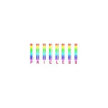 Priceless bar code  by HomeTimeArt