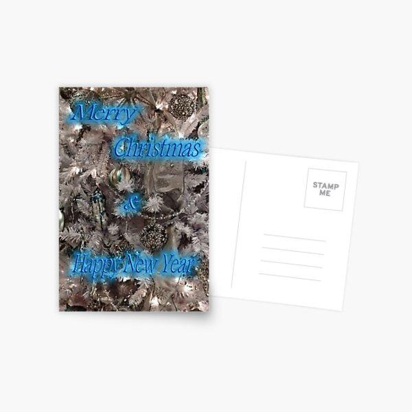 Winter White Card Postcard