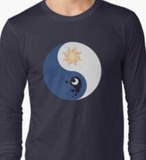 Celestia and Luna Yin Yang Long Sleeve T-Shirt