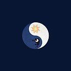Celestia and Luna Yin Yang by Stephanie Whitcomb