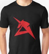 Red Unicorn Slim Fit T-Shirt