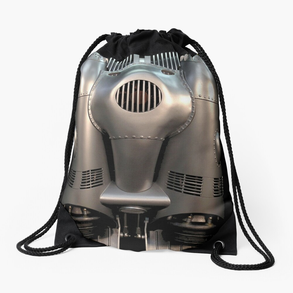 Rocketeer Awesome Flying Backpack Cirrus X3 (from the retronostalgia 80s movie) Drawstring Bag