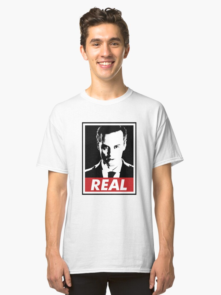 Moriarty was Real Classic T-Shirt Front