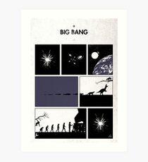 99 Steps of Progress - Big bang Art Print